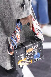Louis Vuitton Black Epi with Badges Petite Malle Bag - Fall 2016