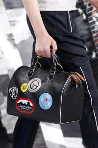 Louis Vuitton Black with Badges Speedy Bag - Fall 2016