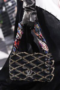 Louis Vuitton Black with Chain Detail Go-14 Bag - Fall 2016