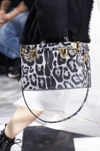 Louis Vuitton Black/White Leopard Print Trunk Bag - Fall 2016