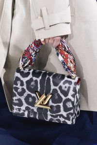 Louis Vuitton Black/White Leopard Print Twist Bag - Fall 2016