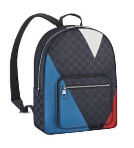 Louis Vuitton Damier Cobalt Regatta Josh Backpack Bag