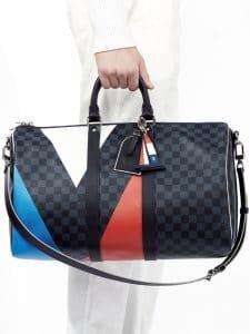 Louis Vuitton Damier Cobalt Regatta Keepall Bag 1