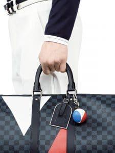 Louis Vuitton Damier Cobalt Regatta Keepall Bag 2