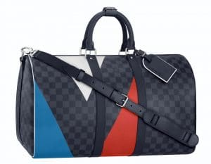 Louis Vuitton Damier Cobalt Regatta Keepall Bag