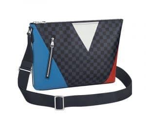 Louis Vuitton Damier Cobalt Regatta Mick MM Bag