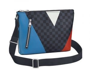 Louis Vuitton Damier Cobalt Regatta Mick PM Bag