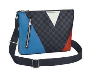 Louis Vuitton Damier Cobalt Regatta Mick PM Bag