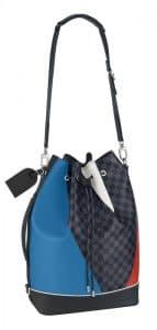 Louis Vuitton Damier Cobalt Regatta Noe Marin Bag