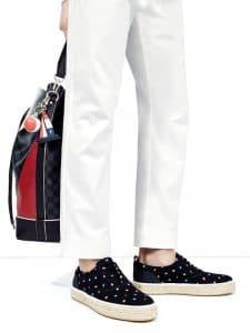 Louis Vuitton Damier Cobalt Regatta Noe Marin Bag 2