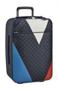 Louis Vuitton Damier Cobalt Regatta Pegase Legare 55 Luggage Bag