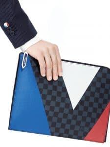 Louis Vuitton Damier Cobalt Regatta Pochette 1