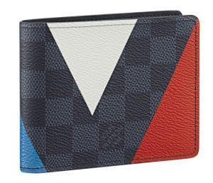 Louis Vuitton Damier Cobalt Regatta Slender Wallet