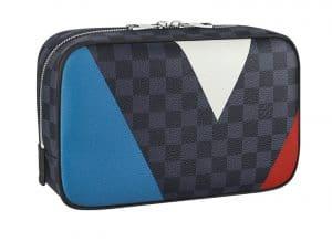 Louis Vuitton Damier Cobalt Regatta Toiletry Pouch GM Bag