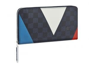 Louis Vuitton Damier Cobalt Regatta Zippy Organiser Wallet