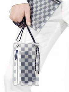 Louis Vuitton Damier iPhone Pouch With Neck Cord