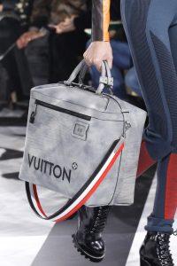 Louis Vuitton Grey Weekender Bag 2 - Fall 2016