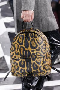 Louis Vuitton Leopard Print Backpack Bag - Fall 2016