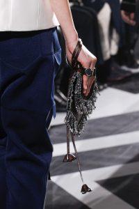 Louis Vuitton Monogram Canvas:Embellished Clutch Bag - Fall 2016