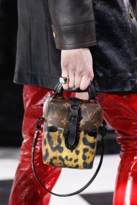 Louis Vuitton Monogram Canvas/Leopard Print Mini Top Handle Bag - Fall 2016