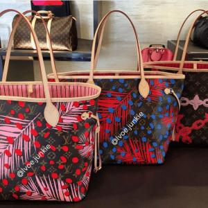 Louis Vuitton Monogram Palm Dots Neverfull Bags