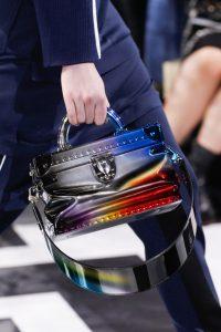 Louis Vuitton Multicolor Metallic Small Trunk Bag - Fall 2016