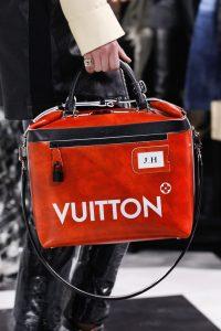 Louis Vuitton Red Weekender Bag - Fall 2016