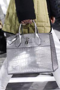 Louis Vuitton Silver Crocodile City Steamer Bag - Fall 2016