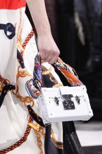 Louis Vuitton White Epi Petite Malle Bag 2 - Fall 2016