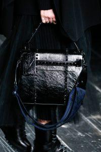 Valentino Black My Rockstud Top Handle Bag - Fall 2016