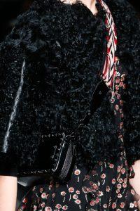 Valentino Black Rockstud Camera Bag - Fall 2016