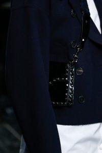 Valentino Black Rockstud Flap Bag 4 - Fall 2016