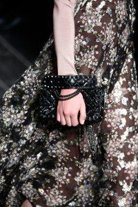 Valentino Black Rockstud Small Flap Bag - Fall 2016