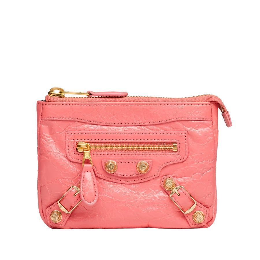 Top 10 designer mini pouch bags spotted fashion for Porte a porte clothing