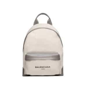 Balenciaga Natural/Gris Taupe Navy Backpack Bag