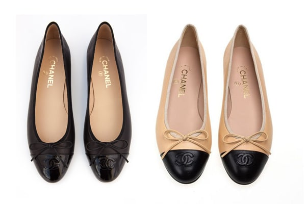 best service 32f56 97733 Chanel Ballerina Flats Reference Guide | Spotted Fashion