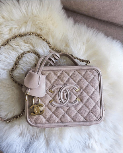 Chanel Cc Filigree Bag Reference Guide Spotted Fashion