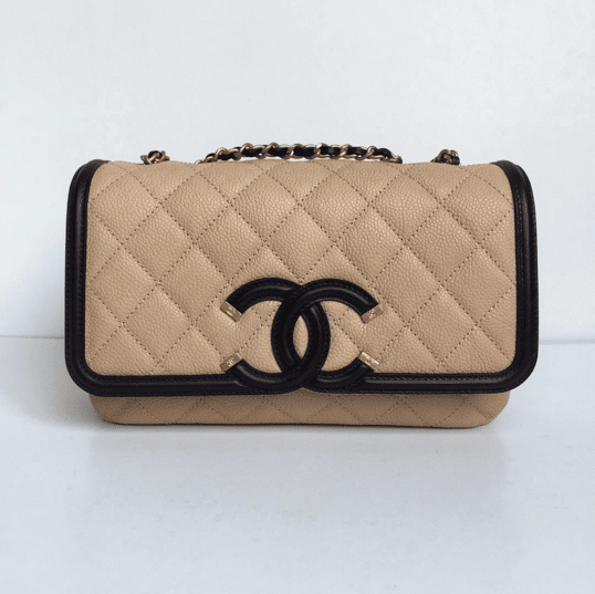 4cd68d099ca609 Chanel Filigree Flap Beige Bag | Stanford Center for Opportunity ...