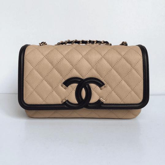 d30d386bcf07 Chanel Filigree Flap Beige Bag | Stanford Center for Opportunity ...