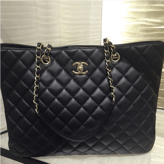Chanel Timeless Classic Tote Bag From Cruise 2016