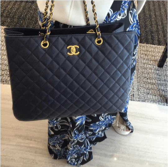 Chanel Timeless Classic Tote Bag From Cruise 2016 ...