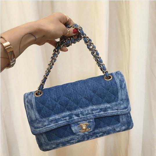 Chanel Denim Flap Bag Fall 2017