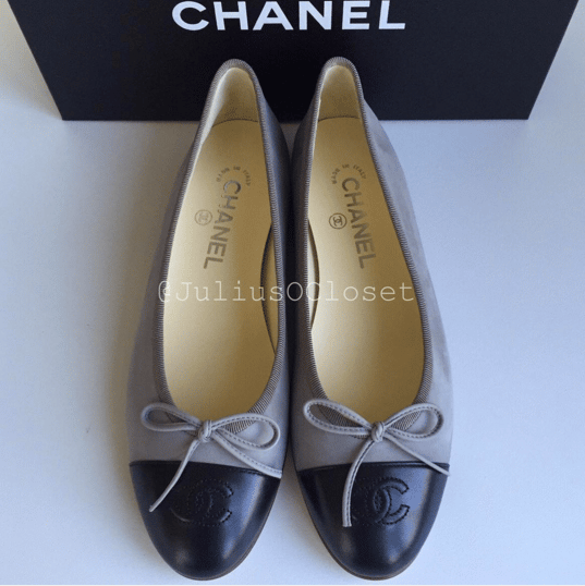 Chanel Ballerina Flats Reference Guide Spotted Fashion