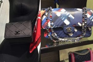 Chanel Propeller And Airline Bags