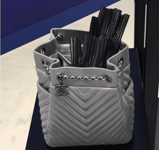 bd6fd4eb7a7e Chanel Metallic Silver Bags From Spring/Summer 2016 | Spotted Fashion