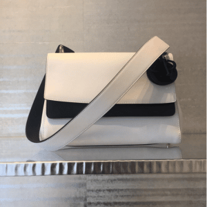Dior White/Black Be Dior Double Flap Bag 3