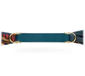 Hermes Blue Epsom Little Romance Belt