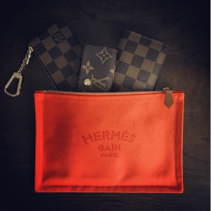 Hermes Flat Yachting PM Pouch Bag 2