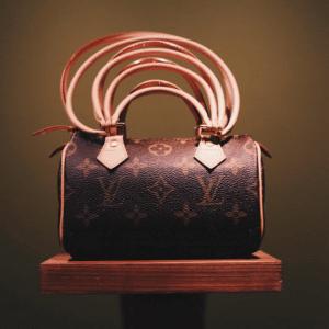 Louis Vuitton Comme des Garcons Mini Speedy Bag