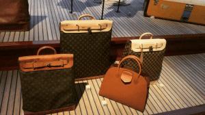 Louis Vuitton Monogram Canvas and Damier Ebene Steamer Bags